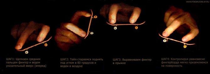 Обучение кикфлип на фингерборде - ляпата от 23-09-2016